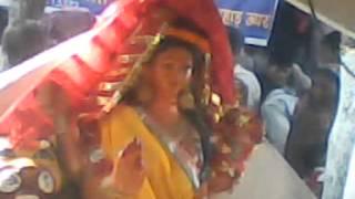 prachin mukhya maa madwarani mandir (pahad uper) korba chhattisgarh.
