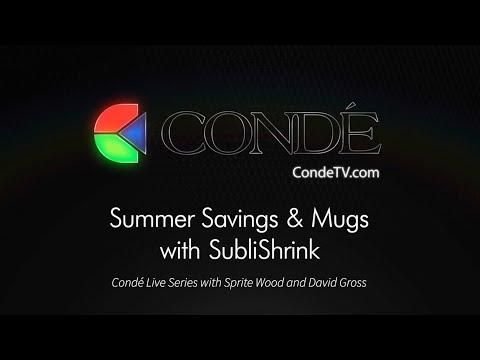 Live Show!  Summer Savings & Mugs with SubliShrink