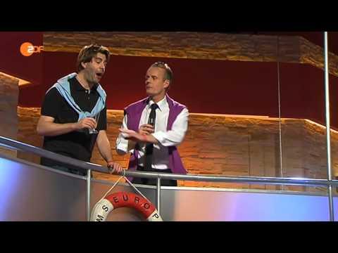 Die Anstalt - 18.11.2014 - Mann über Bord - Max Uthoff, Claus von Wagner