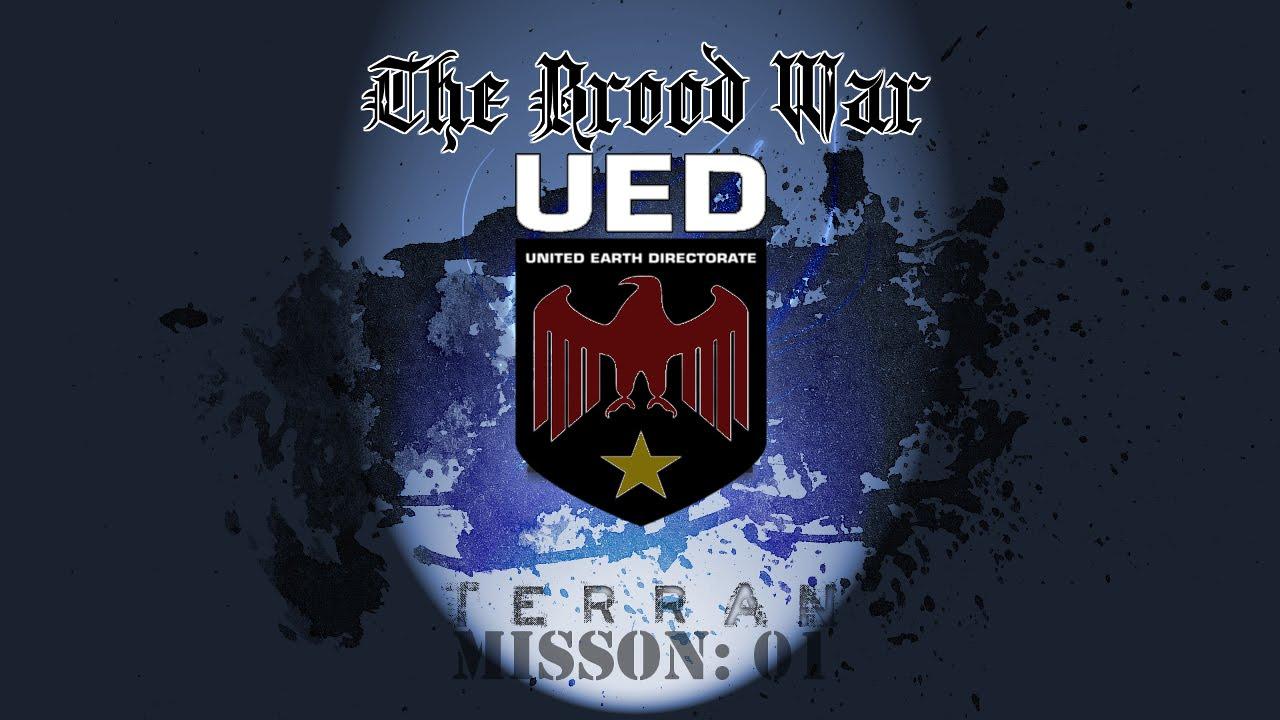 Starcraft Brood War   UED Terran Ep. 1   First Strike -Mass Recall ...