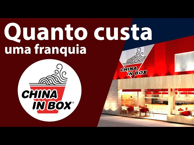 51ebe93ed 💰DESCUBRA QUAL É O INVESTIMENTO NECESSÁRIO PARA TER UMA FRANQUIA CHINA IN  BOX! - YouTube