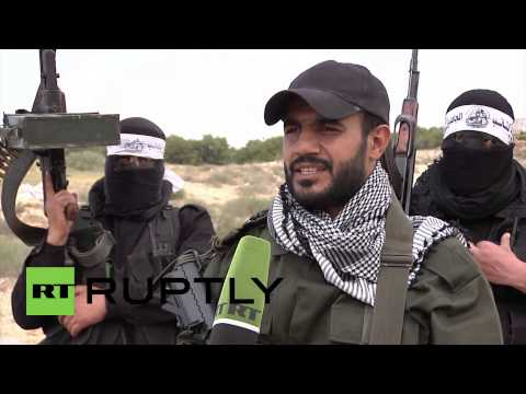 State of Palestine: Gaza fighters prepare for battle
