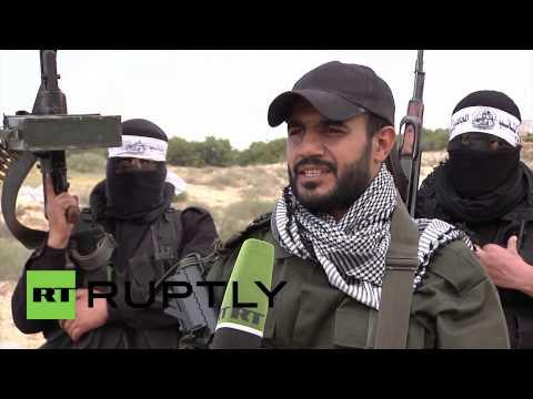 State of Palestine: Gaza fighters prepare for battle