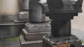 京都市中京区の織田 信長ゆかりの本能寺で徳川家重夫人の供養塔・菅中納...