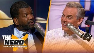 LeBron has had a harder time attracting players than MJ, Lions should draft Tua — Rob | THE HERD