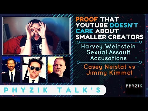 PROOF that YouTube DOESN'T CARE About SMALLER CREATOR'S | Welcome to BUSINESS TUBE | Phyzik TALK's