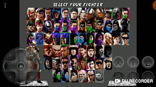 Jugando Ultimate Mortal Kombat Trilogy para Android