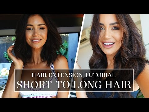 SHORT HAIR TUTORIAL TIPS AND TRICKS