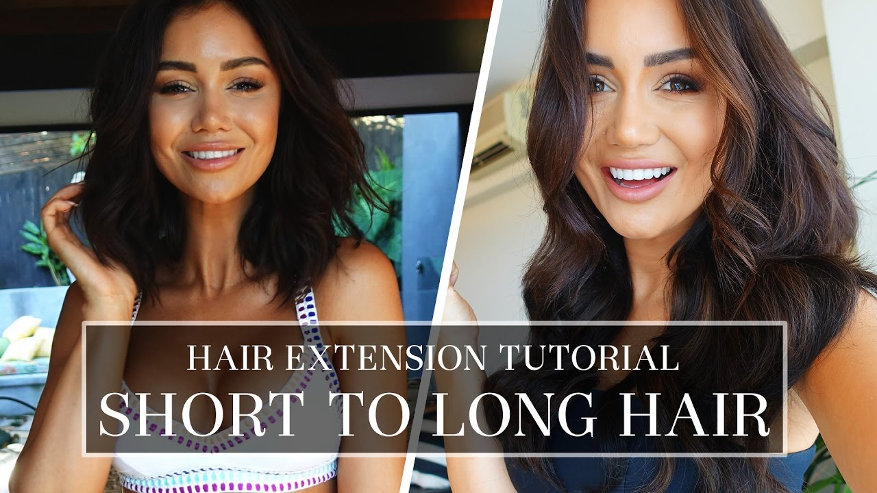 Short hair tutorial tips and tricks for perfect clip in hair short hair tutorial tips and tricks for perfect clip in hair extensions pia muehlenbeck youtube pmusecretfo Gallery
