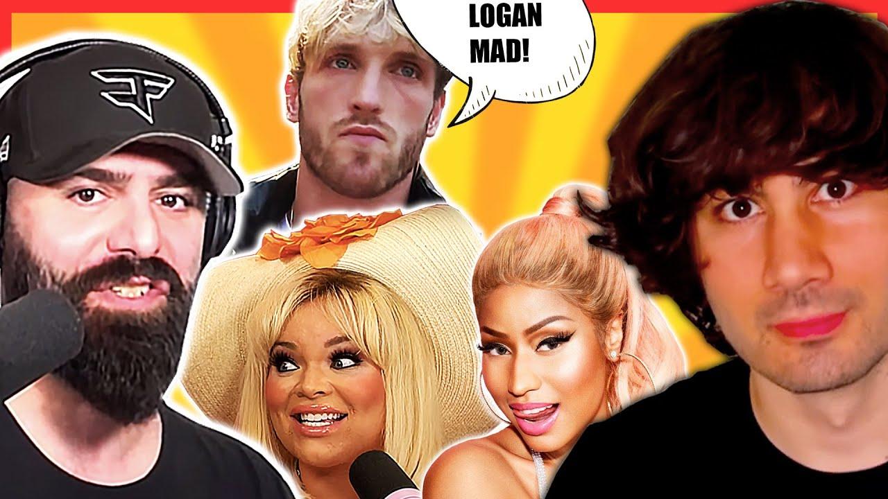 Trisha Paytas SUED FOR DEFAMATION, Keemstar's AWFUL TWEET, Nicki Minaj VS HasanAbi, Logan Paul CRIES
