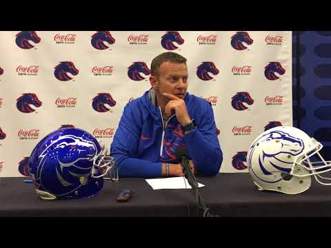 Boise State football coach Bryan Harsin previews Colorado State