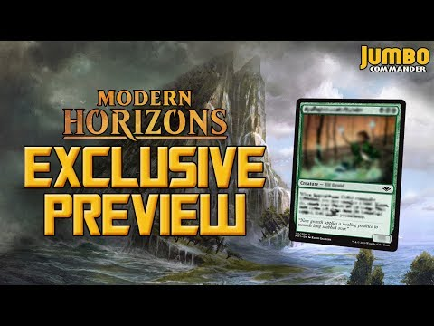 Modern Horizons Exclusive Preview Card | Springbloom Druid