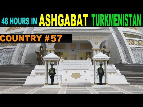 A Tourist's Guide to Ashgabat, Turkmenistan. www.theredquest