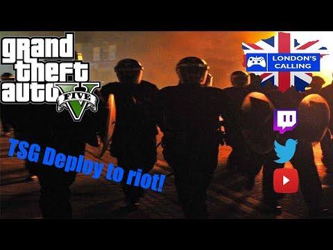 London's Calling RPC   Patrol Highlight   TSG deploy to a Riot!