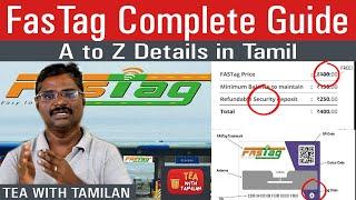 Fastag complete A to Z Guide in Tamil  Fastag  எப்படி வாங்குவது? எப்படி பயன்படுத்துவது?