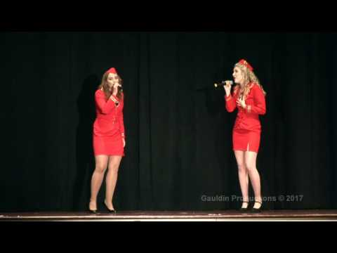 "Casey and Madison Singing ""Who Says You Can't Go Home"""