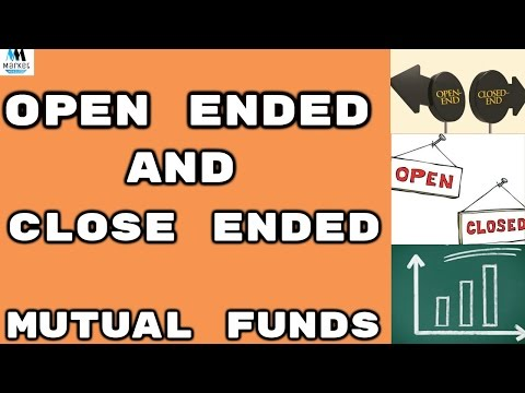Open ended and Closed ended Mutual Funds | IN HINDI |