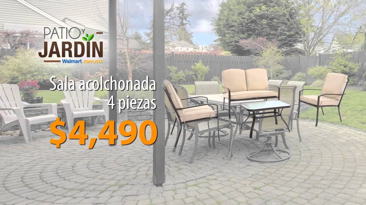 Patio y jardin youtube for Mesas para ninos en walmart