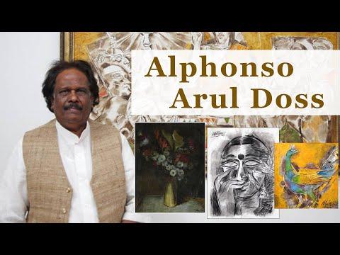 Biography of Indian, Chennai Artist Alphonso Arul Doss