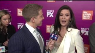 Susan Sarandon and Catherine Zeta-Jones Talk from the Red Carpet