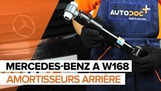 Regardez le vidéo manuel sur la façon de remplacer MERCEDES-BENZ A-CLASS (W168) Controle capteur abs