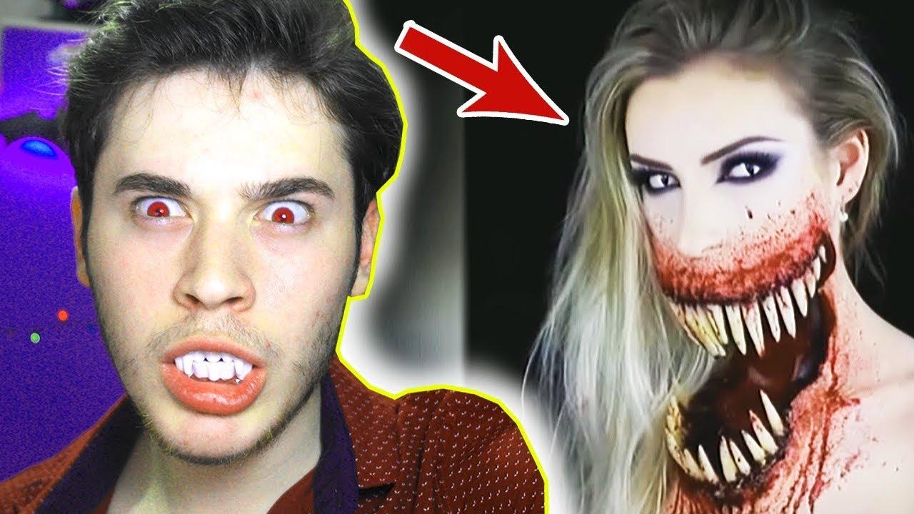 Dünyanin En Korkunç Makyaj Videolari Youtube