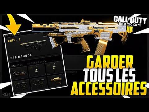 Black Ops 4 Glitches : Garder ses Accessoires d'Armes après le Passage au Prestige !!