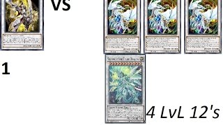 1 Enlightment Paladin VS 4 LvL 12 Synchro Monster Dragons