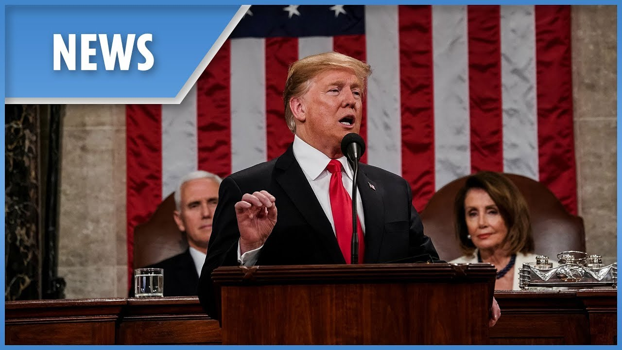 After SOTU Surprise, President Trump Welcomes Juan Guaido to ...