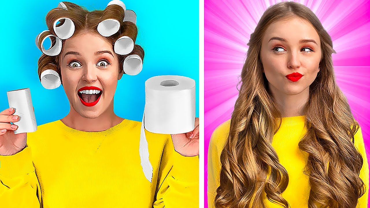 CRAZY GIRLY HACKS THAT ARE TRULY GENIUS || Smart Hacks For Popular Girls By 123 GO! GOLD