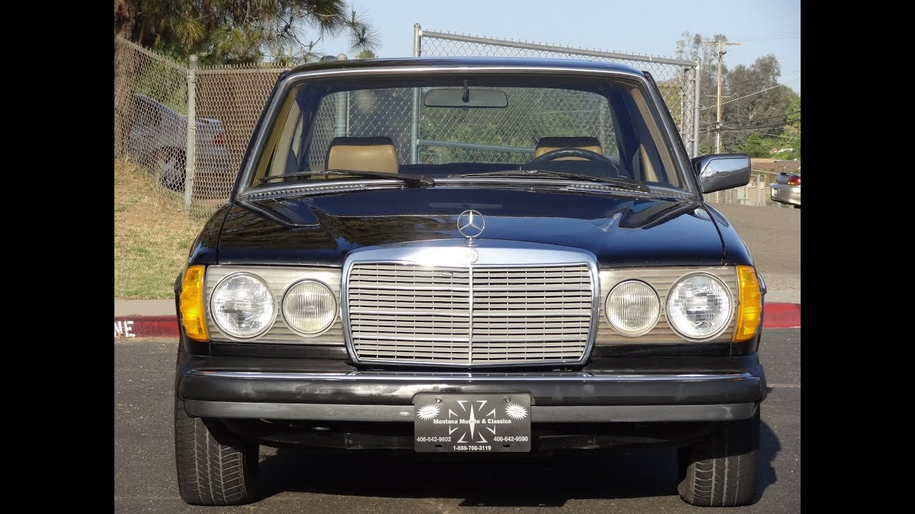 mercedes benz 300d w123 diesel sedan 240d non turbo 300 240 bio