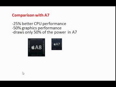 Inside Apple A8 processor and comparison with A7