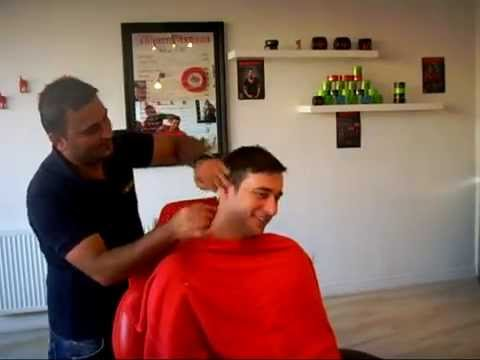 """""""The Full Works"""" @ The Turkish Barber - Turkish Shave, Haircut, Massage (ASMR)"""