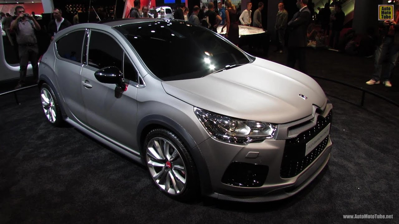 2013 citroen ds4 racing concept exterior walkaround 2012 paris auto show youtube. Black Bedroom Furniture Sets. Home Design Ideas