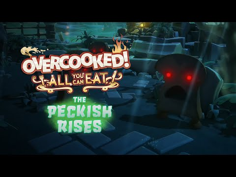 Overcooked! All You Can Eat - The Peckish Rises (4K Release Date Trailer)