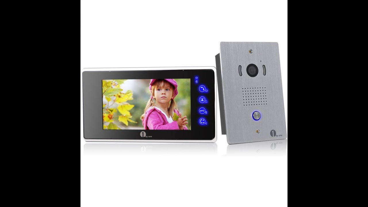 1byone Video Doorbell Intercom System Review Youtube