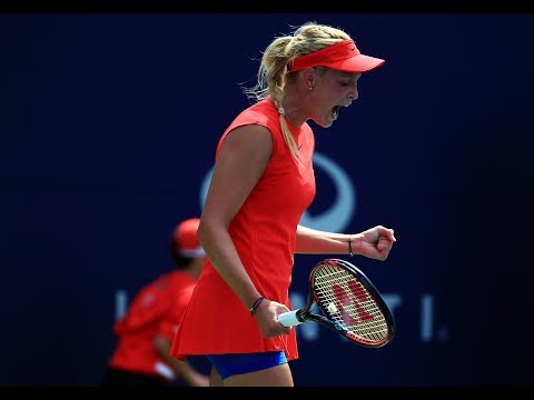 2017 Rogers Cup First Round | Donna Vekic vs Eugenie Bouchard | WTA Highlights
