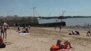 Пляж в Ля Рошель(Отдых во Франции., 2013-08-30T12:00:23.000Z)
