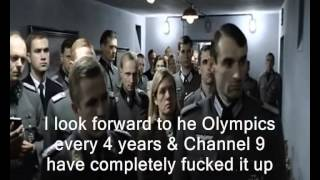 Hitler Reacts to Channel 9 Australia's Olympic Coverage