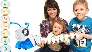 Видео для малышей Весёлая Гусеница и Никита - Игрушки для раннего развития детей