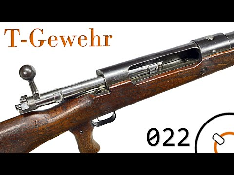 Small Arms of WWI Primer 022: German T-Gewehr Anti-Tank Rifle