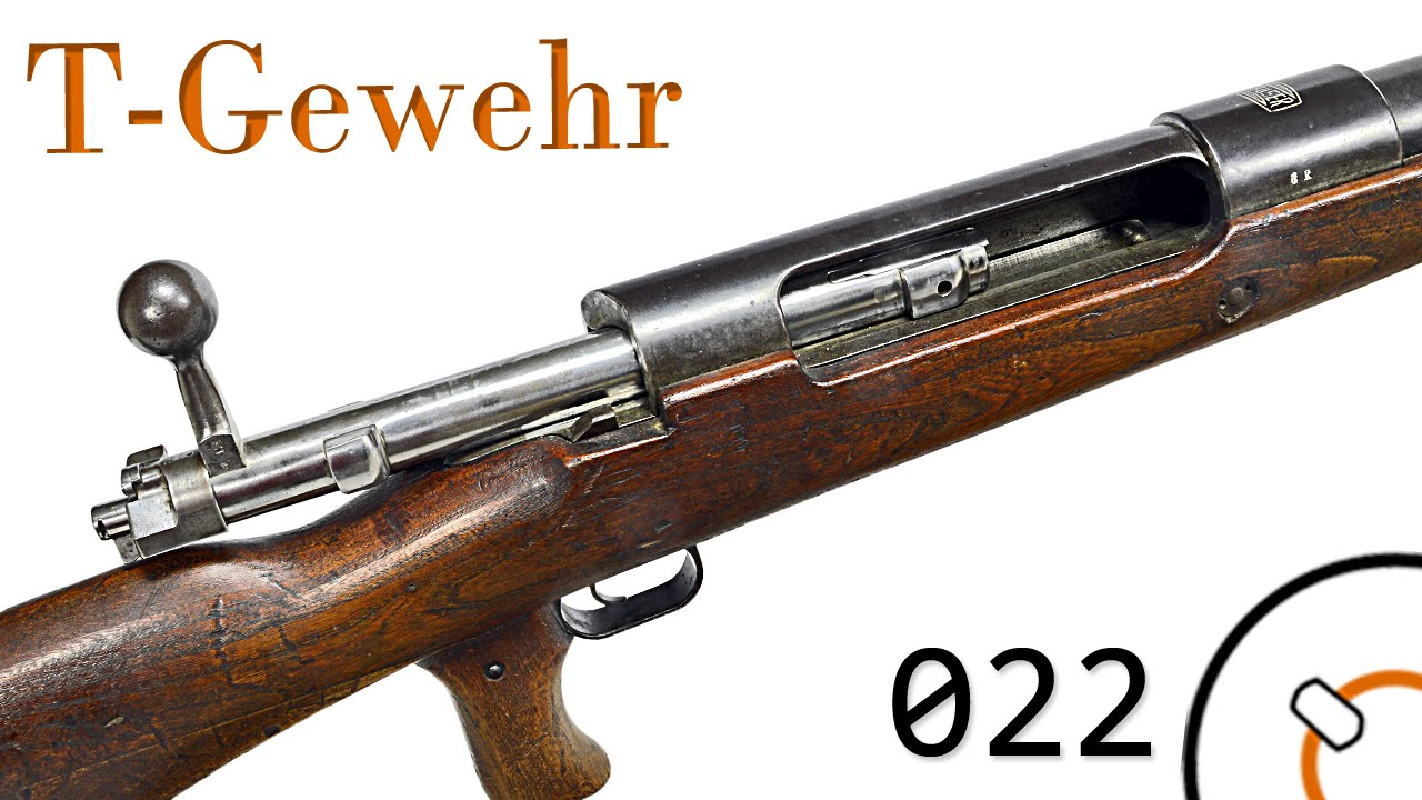 Small Arms of WWI Primer 022: German TankGewehr Anti-Tank Rifle