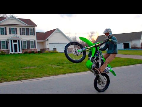 DIRTBIKE WHEELIE HOW TO | TIPS