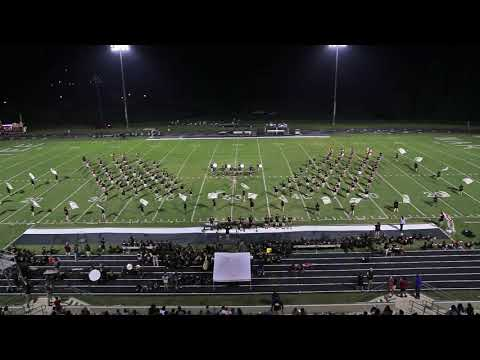 East Hall High School Viking Marching Band 8-25-2017 Half time Show