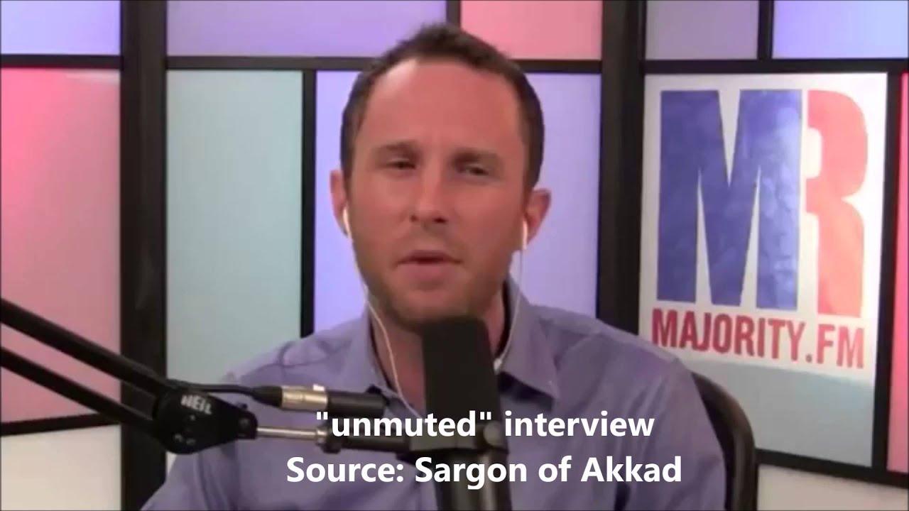 Michael Brooks mutes Sargon of Akkad during debate