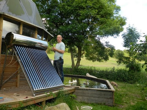 Repair and redesign burst hot water solar panel - part 1