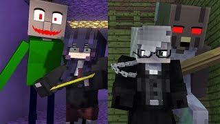 Baldis And Granny Gone Wrong - Minecraft Animation