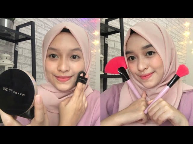 MAYBELLINE SUPER CUSHION ULTRA COVER ( NATURAL BEIGE) REVIEW + TUTORIAL MAKEUP