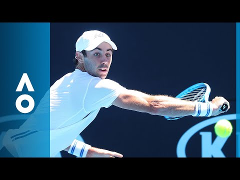 Nicolas Kicker v Jordan Thompson match highlights (1R) | Australian Open 2018