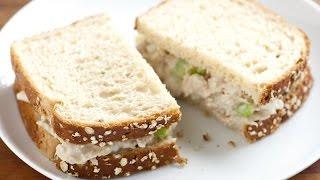 Офигенный сэндвич с тунцом.